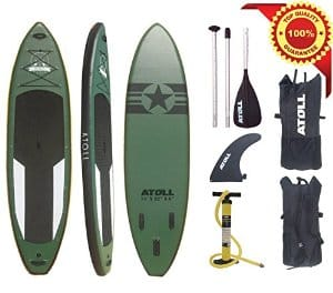 Atoll 11 ft 0 inches Foot Inflatable Stand up Paddle Board review