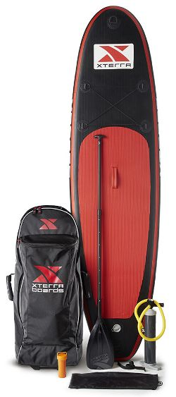 XTERRA Boards 10 Foot Inflatable SUP Package Review