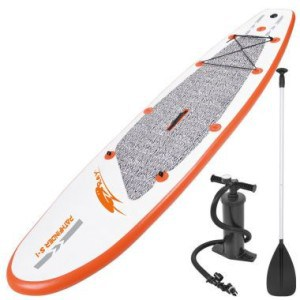 Z-Ray™ PathFinder 10' inflatable stand up paddle board review