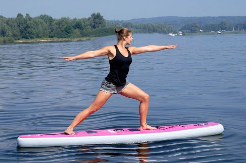Aqua Marina FLOW inflatable yoga sup board Review
