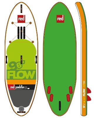 Red Paddle Co FLOW Inflatable SUP Board Review