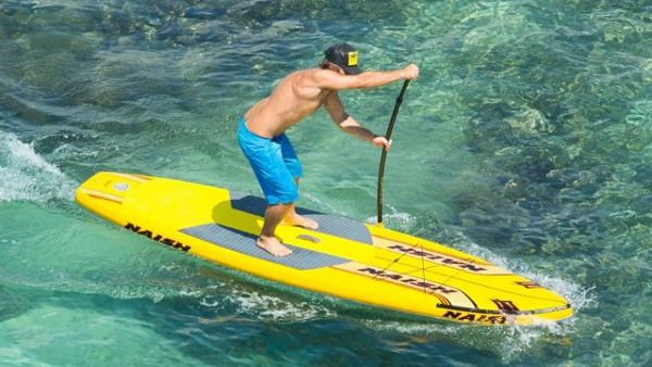 2015 Naish Glide Air 12 inflatable sup board Review