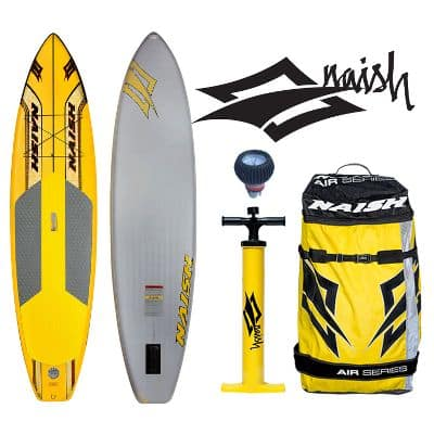 Naish glide air inflatable SUP Board Review