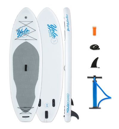 Yolo Inflatable Paddleboard White Nose 10 Review