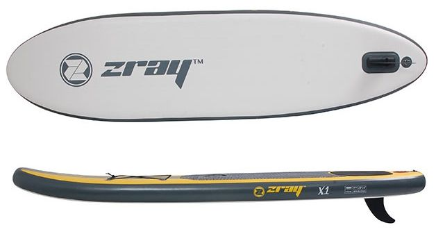 "ZRay X1 9'9"" inflatable SUP Board Reviewed"